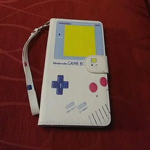 LG Stylo Gameboy Wallet Phone Case